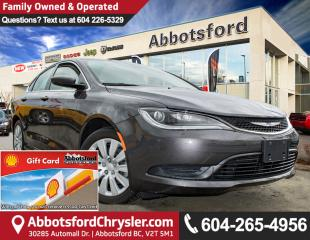 Used 2016 Chrysler 200 LX Brand New Showcase Vehicle for sale in Abbotsford, BC