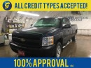 Used 2011 Chevrolet Silverado 1500 SUPER CAB*LONG BOX*4x4*RUGGED BOX LINNER*TRAILER HITCH*SIDE STEPS*ON STAR*AM/FM*CLIMATE CONTROL*TRACTION CONTROL*FRONT TOW HOOKS* for sale in Cambridge, ON