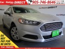 Used 2014 Ford Fusion S| LOW KM'S| WE WANT YOUR TRADE| for sale in Burlington, ON