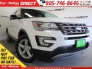 Used 2016 Ford Explorer XLT  4X4  LEATHER  DUAL SUNROOF  NAV-READY  for sale in Burlington, ON