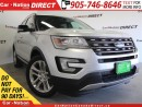 Used 2016 Ford Explorer XLT| 4X4| LEATHER| DUAL SUNROOF| NAV-READY| for sale in Burlington, ON