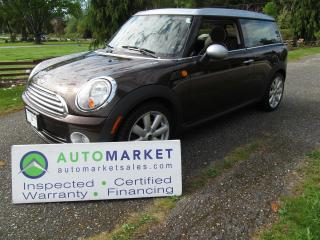 Used 2008 MINI Cooper Clubman WARRANTY! FINANCE ALL CREDIT TYPE'S! for sale in Langley, BC