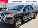 Used 2012 Nissan Titan Crew cab, Fully Loaded, Leather for sale in Edmonton, AB