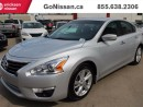 Used 2015 Nissan Altima SV, Bluetooth, Heated Seats, alloy wheels for sale in Edmonton, AB