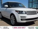Used 2016 Land Rover Range Rover 5.0L V8 Supercharged - CPO 6yr/160000kms manufacturer warranty included until October 30, 2021! CPO rates starting at 2.9%! Local One Owner Trade In | No Accidents | Navigation | Back Up Camera | Parking Sensors | Reverse Traffic/Blind Spot/Closing Vehicl for sale in Edmonton, AB