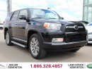 Used 2013 Toyota 4Runner SR5 with Leather - Local One Owner Trade In | No Accidents | 3M Protection Applied | Remote Starter | Rear DVD | Trailer Hitch | Heather Leather Seats | Power Sunroof | JBL Audio | Dual Zone Climate Control with AC | 7 Seats | 20 Inch Wheels | Bluetooth | for sale in Edmonton, AB