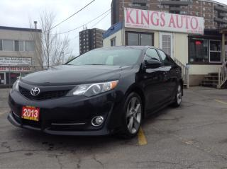 Used 2013 Toyota Camry SE, NAVI, BACK-UP CAM, LEATHER, TIPTRONIC for sale in Scarborough, ON