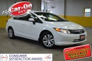 Used 2012 Honda Civic LX A/C BLUETOOTH CRUISE for sale in Ottawa, ON