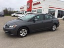Used 2013 Honda Civic LX MANUAL for sale in Smiths Falls, ON