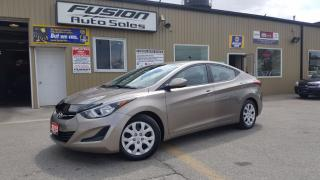 Used 2015 Hyundai Elantra GL-NO HST 1 WEEK ONLY-NOT A RENTAL-LOW KM for sale in Tilbury, ON