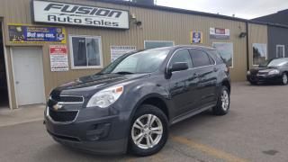 Used 2014 Chevrolet Equinox LS-1 OWNER OFF LEASE-FACTORY WARRANTY-BLUETOOTH for sale in Tilbury, ON