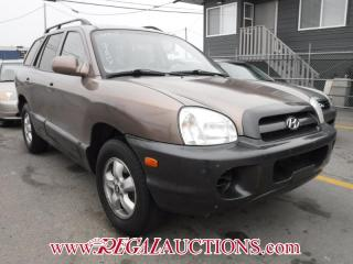 Used 2005 Hyundai SANTA FE GL 4D UTILITY 2WD for sale in Calgary, AB