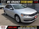 Used 2013 Volkswagen Passat 2.5L 5 cyl Trendline 107km heated seats for sale in Hamilton, ON