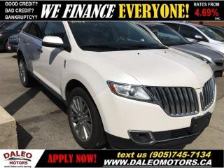 Used 2011 Lincoln MKX AWD NAV PANO ROOF POWER LIFT GATE for sale in Hamilton, ON