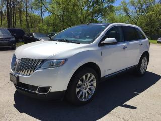 Used 2013 Lincoln MKX LIMITED * AWD * LEATHER * NAV * REAR CAM * PAN SUNROOF * BLUETOOTH for sale in London, ON