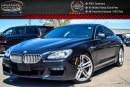 Used 2013 BMW 6 Series 650i xDrive|M PKG|Navi|Pano Sunroof|Bluetooth|Leather|Keyless Entry|19
