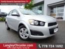 Used 2013 Chevrolet Sonic LT Auto W/ POWER WINDOWS/LOCKS, BLUETOOTH & A/C for sale in Surrey, BC