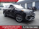 Used 2017 Hyundai Santa Fe XL Luxury ACCIDENT FREE w/ ALL-WHEEL DRIVE, LEATHER UPHOLSTERY & PANORAMIC SUNROOF for sale in Surrey, BC