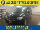 Used 2015 Dodge Grand Caravan DUAL ROW STOW N'GO*KEYLESS ENTRY*ROOF RAILS*DUAL ZONE CLIMATE CONTROL*AM/FM/XM/CD/AUX*CRUISE CONTROL*POWER FRONT WINDOWS/LOCKS/HEATED MIRRORS*POWER DRIVER SEAT*U CONNECT PHONE* for sale in Cambridge, ON