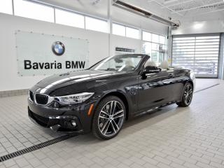 New 2018 BMW 440i xDrive Cabriolet for sale in Edmonton, AB