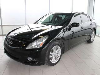 Used 2013 Infiniti G37 Sedan ALL WHEEL DRIVE/BACK UP CAMERA/HEATED SEATS/ONE OWNER for sale in Edmonton, AB