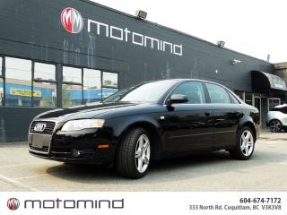 Used 2007 Audi A4 2.0T for sale in Coquitlam, BC
