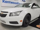 Used 2014 Chevrolet Cruze 1LT pearl white with a wicked red and black interior! for sale in Edmonton, AB