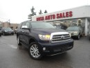 Used 2008 Toyota Sequoia 4WD Platinum NAVI LOW KM NO ACCIDENT 1 OWNER SUNRO for sale in Oakville, ON