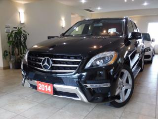 Used 2014 Mercedes-Benz ML-Class ML350 4MATIC AMG PKG|360CAM|NAVI|PANOROOF for sale in Toronto, ON
