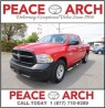 Used 2014 Dodge Ram 1500 ST-LEATHER/CHROME SIDERAILS/TONNEAU COVER for sale in Surrey, BC