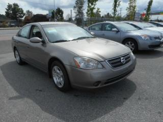 Used 2003 Nissan Altima 4dr Sdn SL Auto for sale in Coquitlam, BC