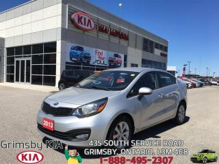 Used 2013 Kia Rio LX+ ECO...LOW PAYMENTS!!! for sale in Grimsby, ON