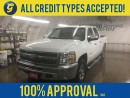 Used 2013 Chevrolet Silverado 1500 CREW CAB*4WD*KEYLESS ENTRY*SIDE STEPS*4x4*POWER WINDOWS/LOCKS/MIRRORS*PHONE CONNECT*PLASTIC BOX LINER* for sale in Cambridge, ON