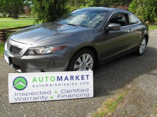 Used 2008 Honda Accord EX-L, V6, 6sp, Navi, Insp, Warr for sale in Surrey, BC