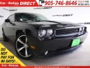 Used 2014 Dodge Challenger R/T Classic| RED LEATHER| SUNROOF| HEMI| for sale in Burlington, ON