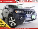 Used 2016 Jeep Grand Cherokee Limited| NAV-READY| LEATHER| SUNROOF| for sale in Burlington, ON