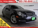 Used 2014 Mercedes-Benz C-Class C300 4MATIC| LEATHER| SUNROOF| for sale in Burlington, ON