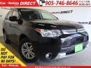 Used 2015 Mitsubishi Outlander ES| 4X4| NAVI| TOUCH SCREEN| for sale in Burlington, ON