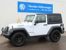 Used 2015 Jeep Wrangler SPORT for sale in Edmonton, AB