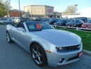 Used 2013 Chevrolet Camaro CONVERTIBLE-CAMERA- H.U.D for sale in Scarborough, ON