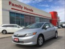Used 2012 Honda Civic LX (M5) for sale in Brampton, ON