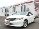 Used 2012 Honda Civic LX   Only 52KM!!!   B.Tooth   KeyLess   for sale in Mississauga, ON