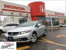 Used 2013 Honda Civic LX, ONE owner, low ,mileage, great shape for sale in Scarborough, ON