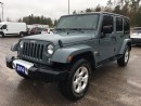Used 2014 Jeep Wrangler Unlimited Sahara - Remote Start - Dual Tops - Nav for sale in Norwood, ON