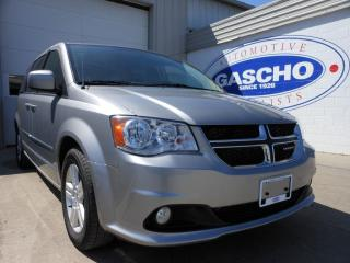 Used 2016 Dodge Grand Caravan Crew StowNGo Cloth Interior for sale in Kitchener, ON