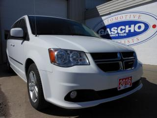 Used 2016 Dodge Grand Caravan Crew Alloy Wheels StowNGo for sale in Kitchener, ON