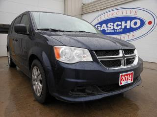 Used 2014 Dodge Grand Caravan SXT|StowNGow|Rear Air for sale in Kitchener, ON