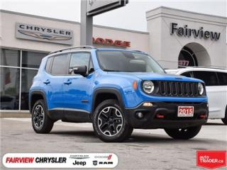 Used 2015 Jeep Renegade Trailhawk..Fully Loaded for sale in Burlington, ON