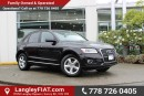 Used 2016 Audi Q5 2.0T Komfort NO ACCIDENTS, B.C OWNED for sale in Surrey, BC
