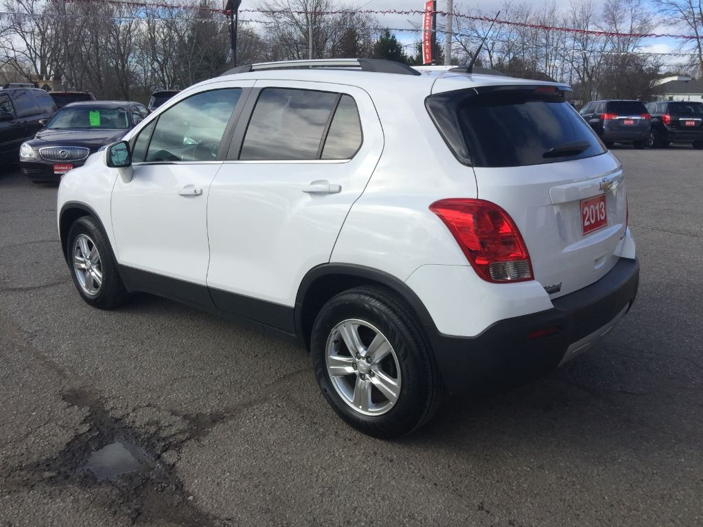 used 2013 chevrolet trax lt for sale in bowmanville ontario. Black Bedroom Furniture Sets. Home Design Ideas